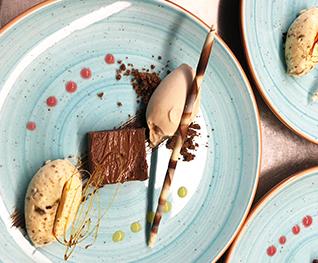 Hausgemachtes Dessert-Variationen von Stegners