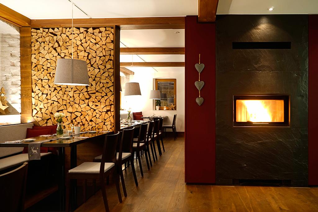 Gemütlicher Gastraum in Stegners Restaurant